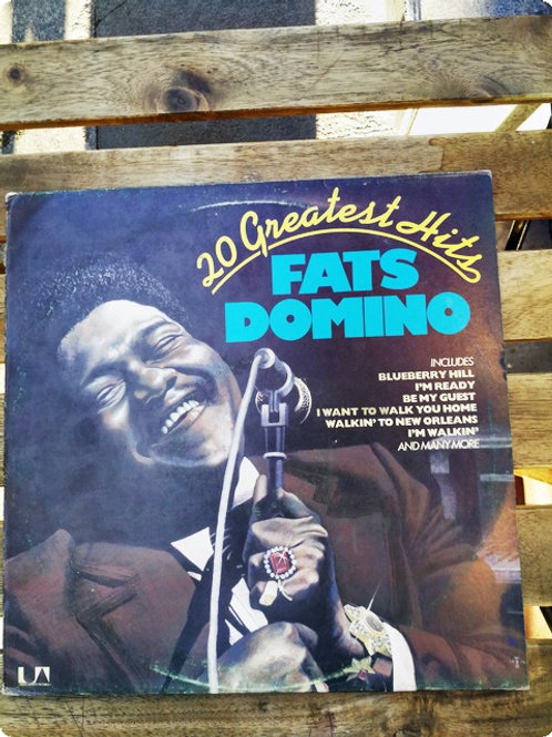 20 Greatest Hits Fats Domino- Plak- LP