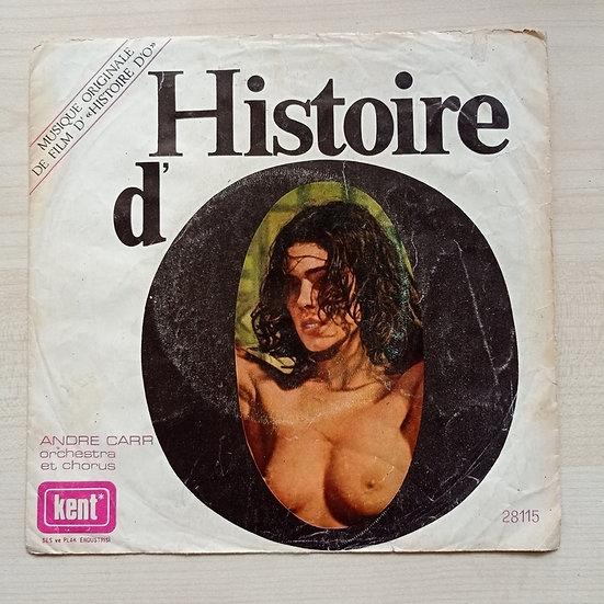 Andre Car Histoire D'O - Roissy (kapaktır)