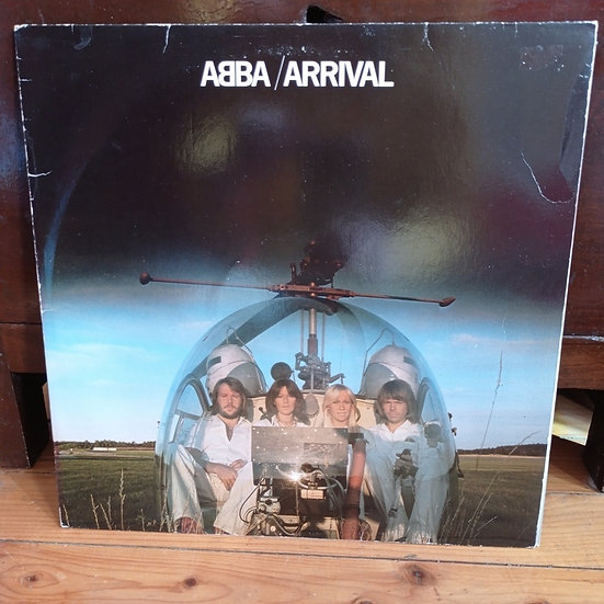 Abba Arrival Plak LP