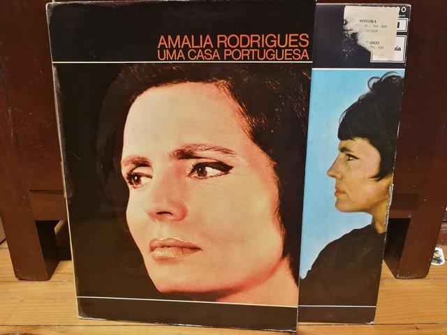 Amalia Rodrigues Una casa Portuguesa LP Plak