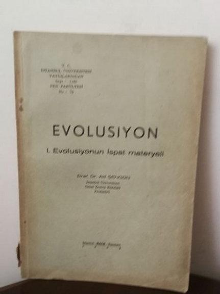evolusiyon: 1. Evolusiyonun İspat Materyeli