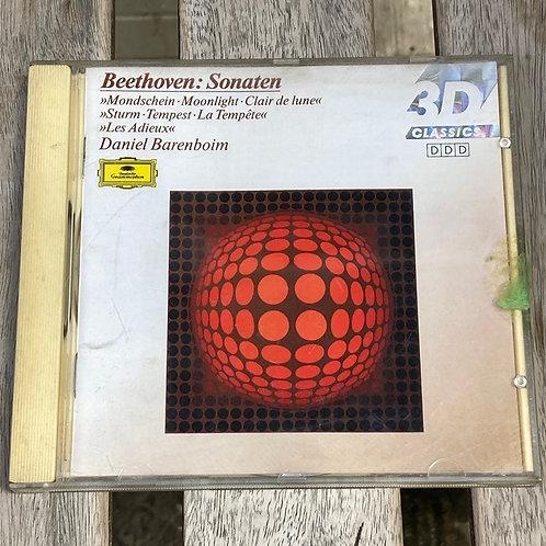 Beethoven: Sonates- Daniel Barenboim CD
