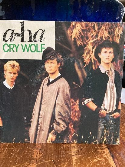 A ha Cry Wolf 45'lik Plak