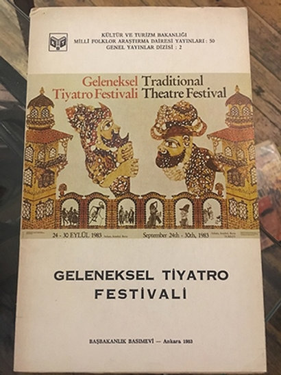 Geleneksel Tiyatro Festivali(24-30 Eylül 1983)