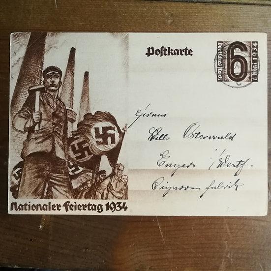 3.Reich Dönemi 1934 Propaganda Antiye