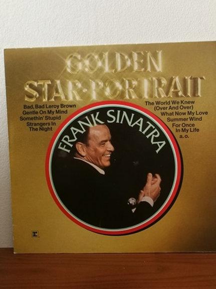 Frank Sinatra- Golden Star Portrait