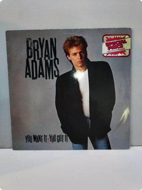Bryan Adams- You Want it, You got it- Plak- LP