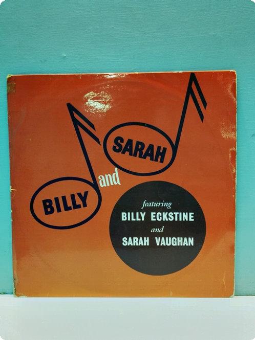 Billy Eckstine, Sarah Vaughan – Billy And Sarah-Plak-LP