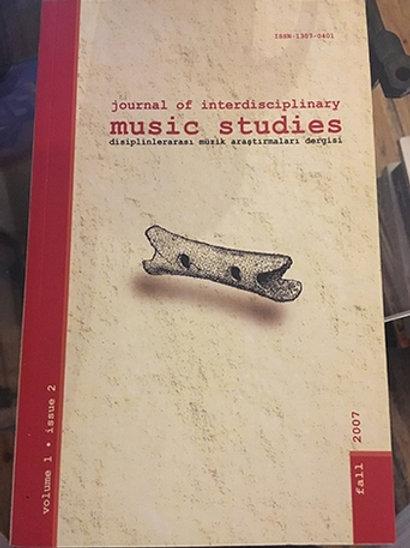 Journal of interdisciplinary Music Studies Volume 1,