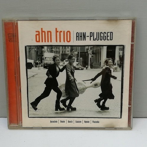 Ahn Trio- Ahn Plugged CD