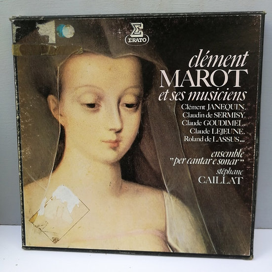 Clement Marot et Ses Musiciens ( 2 LP Plak )