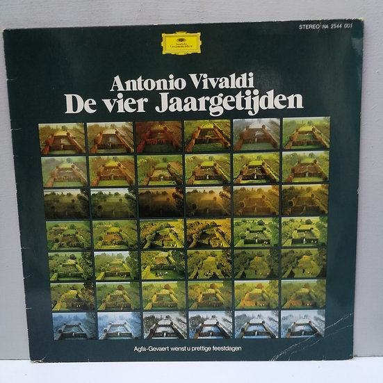 Antonio Vivaldi De Vier Laargetijden LP Plak