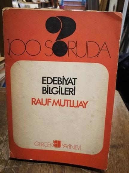 100 Soruda Edebiyat Bilgileri