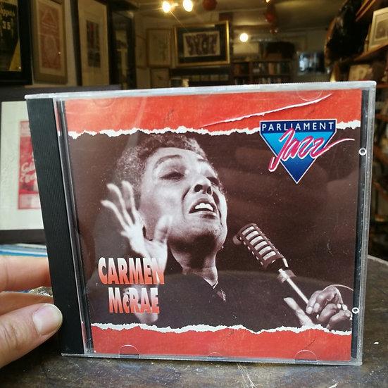 Carmen McRae Parliament jazz CD