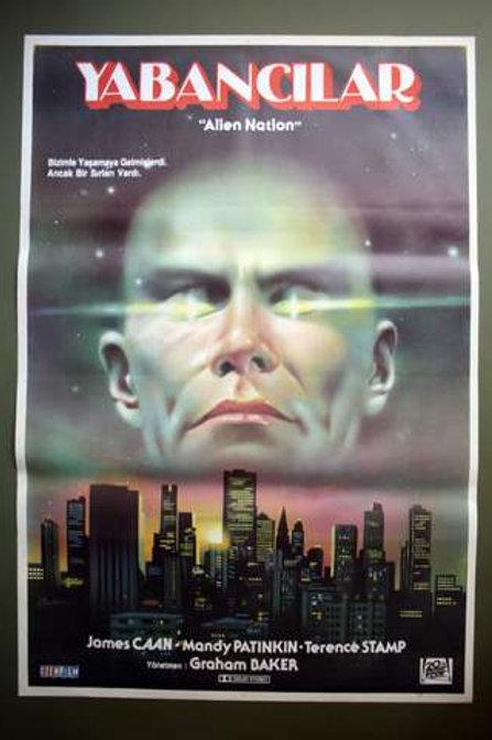 Alien Nation (1988) Original Turksh  One-Sheet Movie Poster
