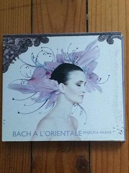 Bach a L'orientale Anjelika Akbar CD