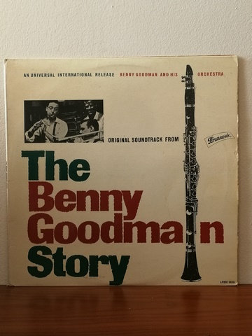 Benny Goodman The Beny Goodman Story LP Plak