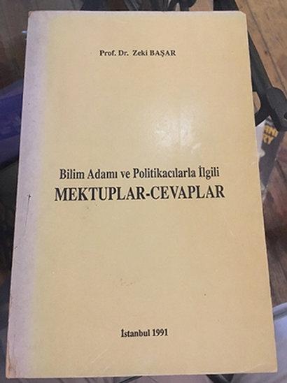 BİLİM ADAMI VE POLİTİKACILARLA İLGİLİ MEKTUPLAR-CEVAPLAR