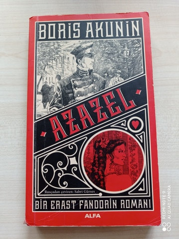Azazel Bir Erast Fandorin Romanı