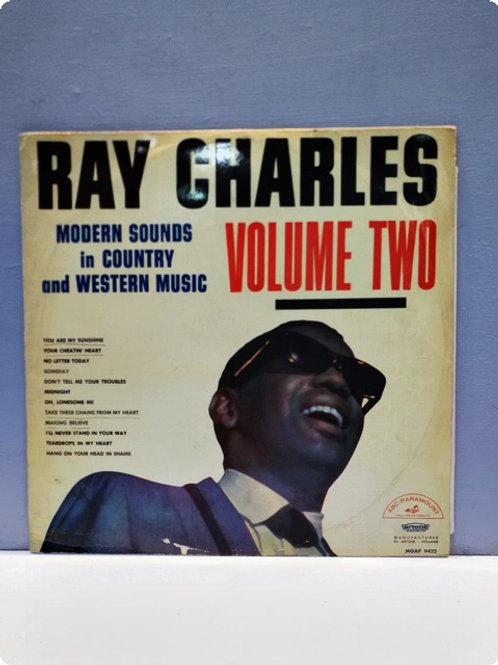 Ray Charles-Modern Sounds in Contry and Western Music- Volume 2- Plak-LP