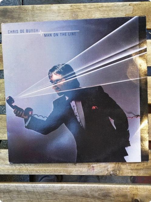 Chris de Burgh- Man on the Line- Plak -LP