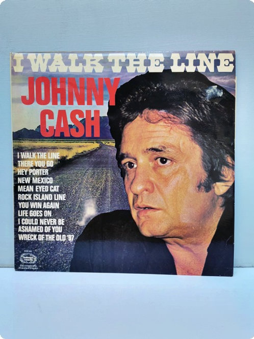 Johnny Cash- I Wank the line- Plak- LP