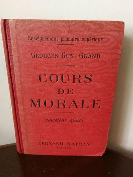 COURS DE MORALE