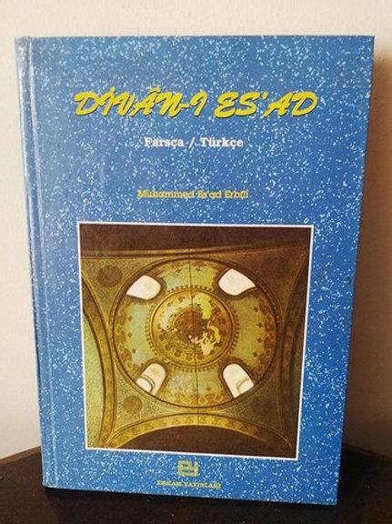 Divan-ı Es'ad: Farsça- Türkçe
