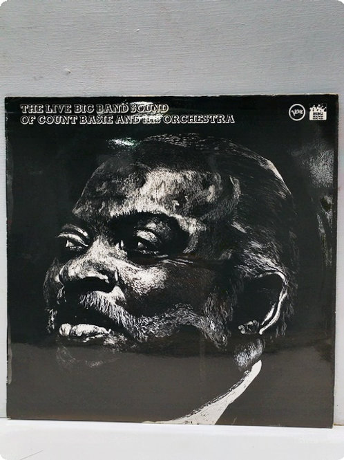 The live Big Band Sound of Count Basie and His Orchestra- Plak-LP