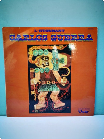 Carlos Guerra- L'etonnant- Plak- LP