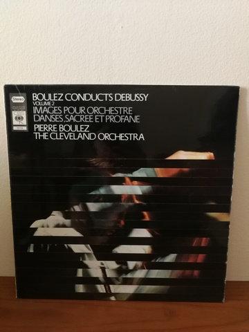 Boulez Conducts Debussy Volume 2- LP Plak