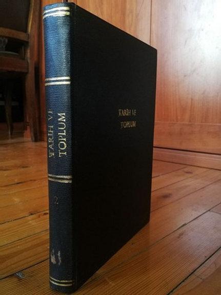 Tarih ve Toplum Aylık Ansiklopedik Dergi: Ocak 1984, Sayı 7-12