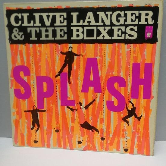 Clive Langer and The Boxes Splash LP Plak