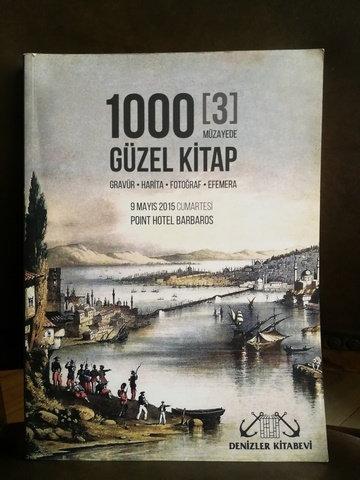 1000 Güzel Kitap (gravür-Harita-Fotoğraf-Efemera) 9 Mayıs 2015