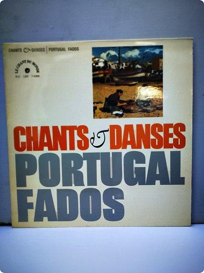 Chants Danses Portucal Fados-Plak- LP