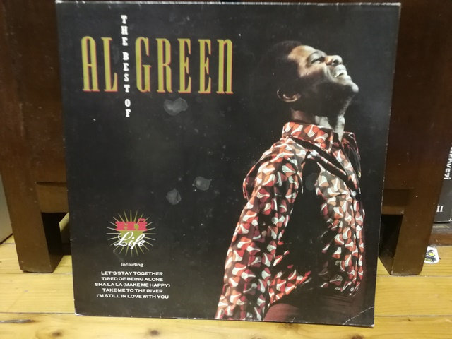 Al Green  The Best Of LP Plak