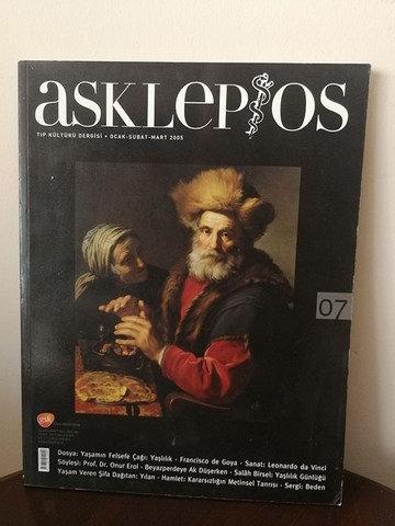 Asklepios Tıp Kültür Dergisi: Ocak-Şubat Mart 2005