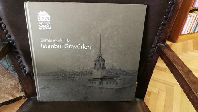 Cemal Akyıldız'la İstanbul gravürleri