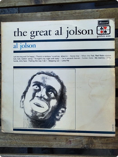 Al Jolson- The Great al Jolson- Plak-LP