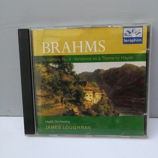 Brahms James Loughran CD