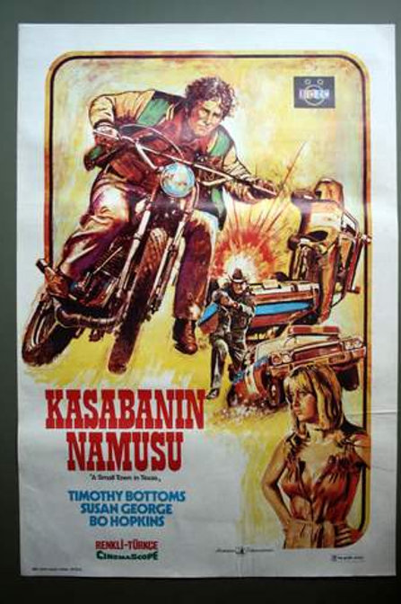 A Small Town in Texas (1976) Vintage Turkish Poster
