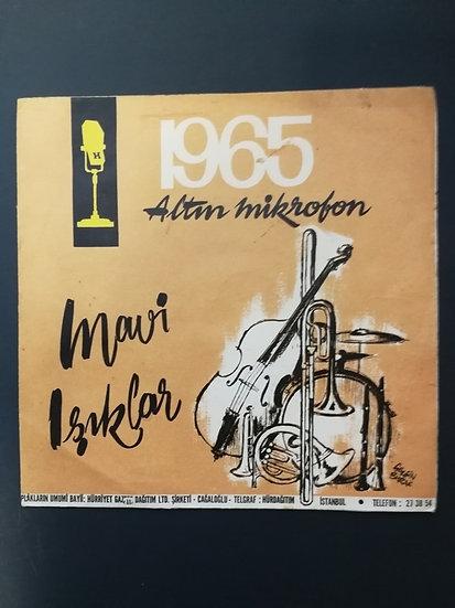 1965 Altın Mikrofon Mavi Işıklar kanamam - helvacı (kapaktır)