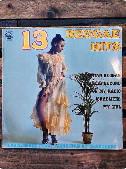 Christopher John Orchestre rt Chanteurs- 13 Reggae Hits Plak - LP