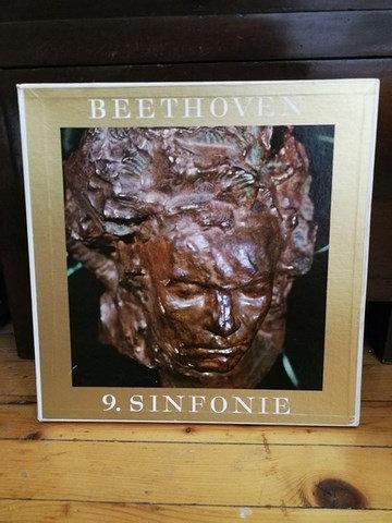 Beethoven 9. Sinfonie LP Plak