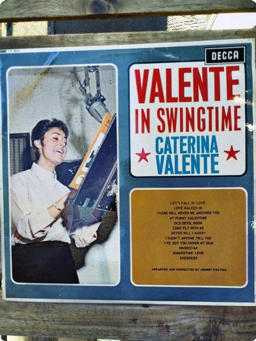 Caterina Valante- Valante in Swingtime- Plak - LP