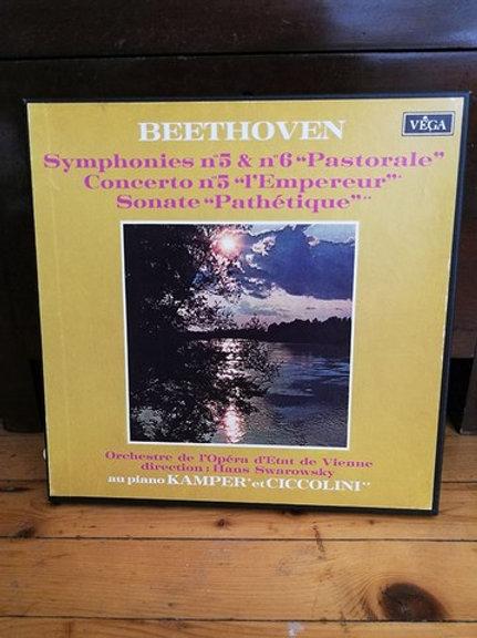 "Beethoven Symphonies no 5 &no 6 ""Pastoral"""