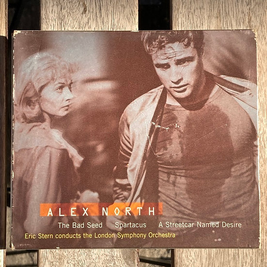 Alex North The Bad Seed Spartacus A Streetcar Named Desire CD