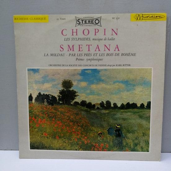 Chopin Smetana Orchestre De La Societe Des Concerts LP