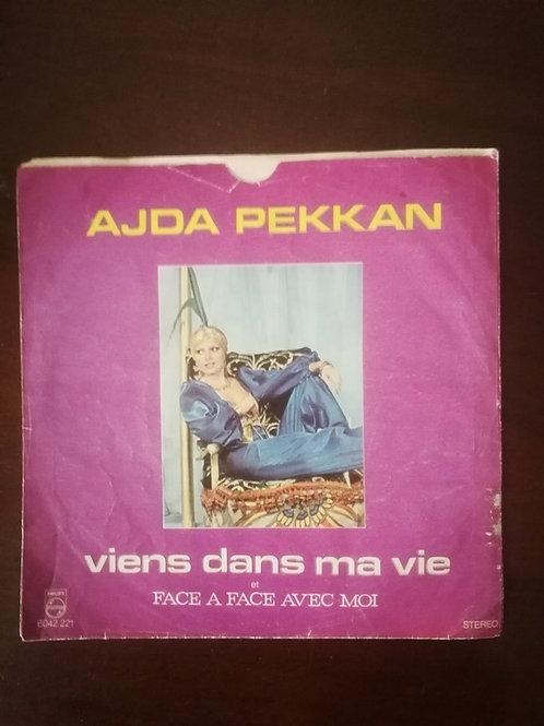 Ajda Pekkan viens adns ma vie - face a face avec moi (SADECE KAPAK)
