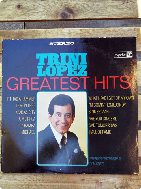 Trini Lopez- Geratest Hits-Plak- LP